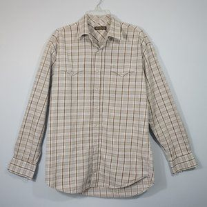 Stetson Men's Pearl Snap Western Shirt Large